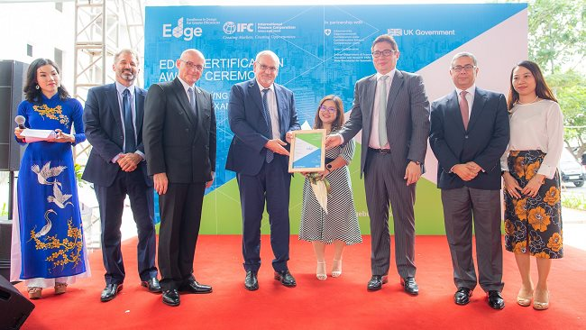 Hausneo apartment awarded EDGE certification for green building