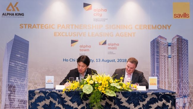 alpha king appointed savills vietnam as its properties exclusive leasing agency