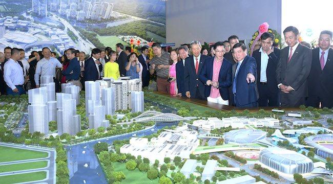 Keppel breaks ground for Saigon Sports City