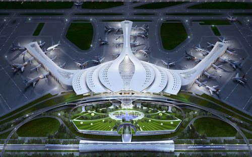 MoT chose lotus-inspired design for Long Thanh airport
