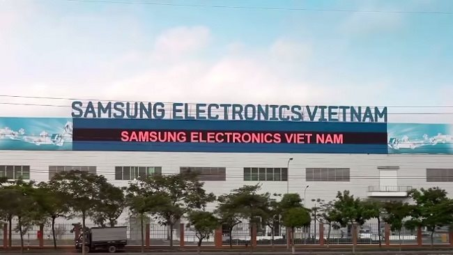 Vietnam subsidiaries named major contributors to US$ billion profits of Samsung Electronics