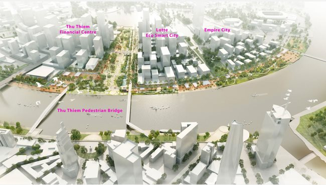 US$883 million Eco Smart City Project entered into contract