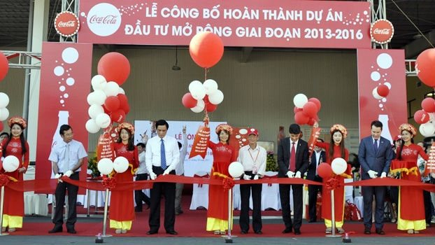 Coca-Cola Vietnam finalizes its expansion investment of US$300 million in Da Nang city