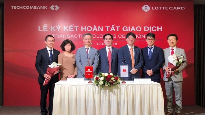 Lotte to develop fintech in Vietnam after aquiring TechcomFinance