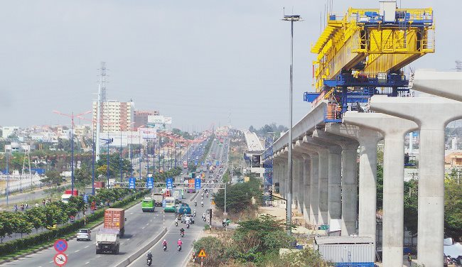 Ho Chi Minh City's first metro line to be operational next year