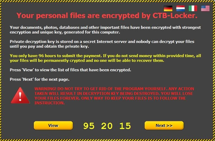 Ransomware, the weapon wielded in cyber attacks