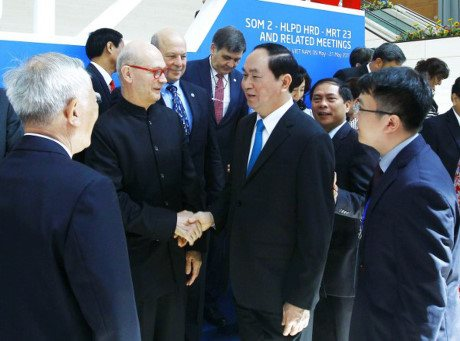 People, businesses key to APEC's present success: President