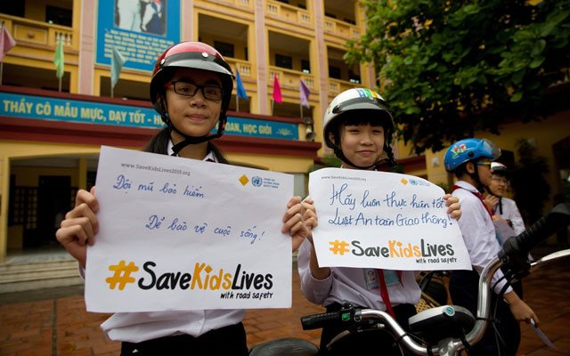 Road injuries remain top killer of Vietnam's teenagers, WHO says