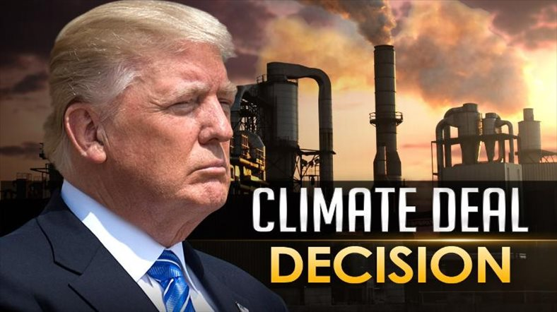 Trump announces US withdrawal from Paris climate deal
