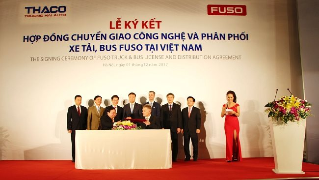 THACO becomes a new General Distributor for FUSO Products in Vietnam, replacing Mercedes-Benz Vietnam