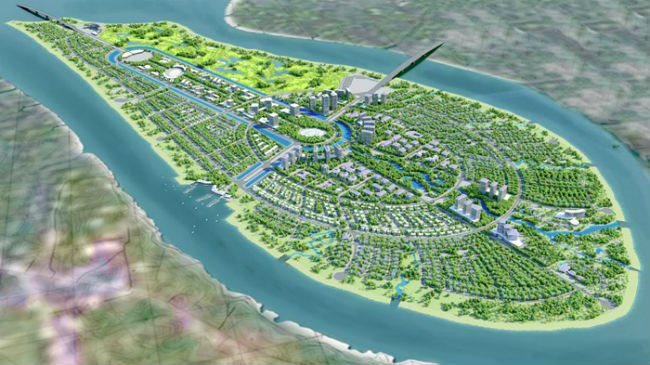 China's billion-dollar real estate projects plan in Vietnam