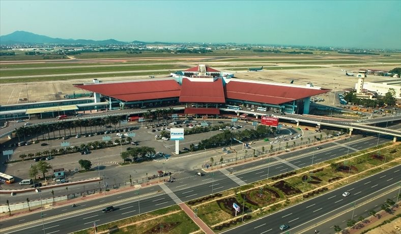 Noi Bai airport to increase capacity up to 100 million passengers annually