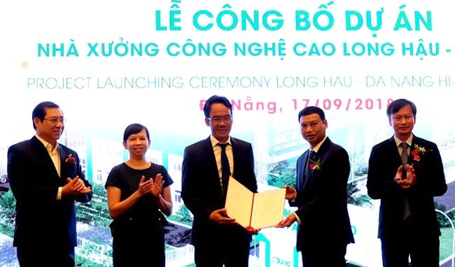 $45 million first factory complex for lease in Da Nang Hi-Tech Park to kick off