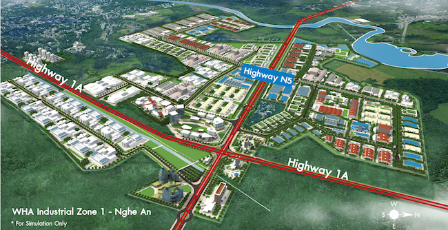 Thai tycoon unveils strategy for largest industrial park in North Central Vietnam 1
