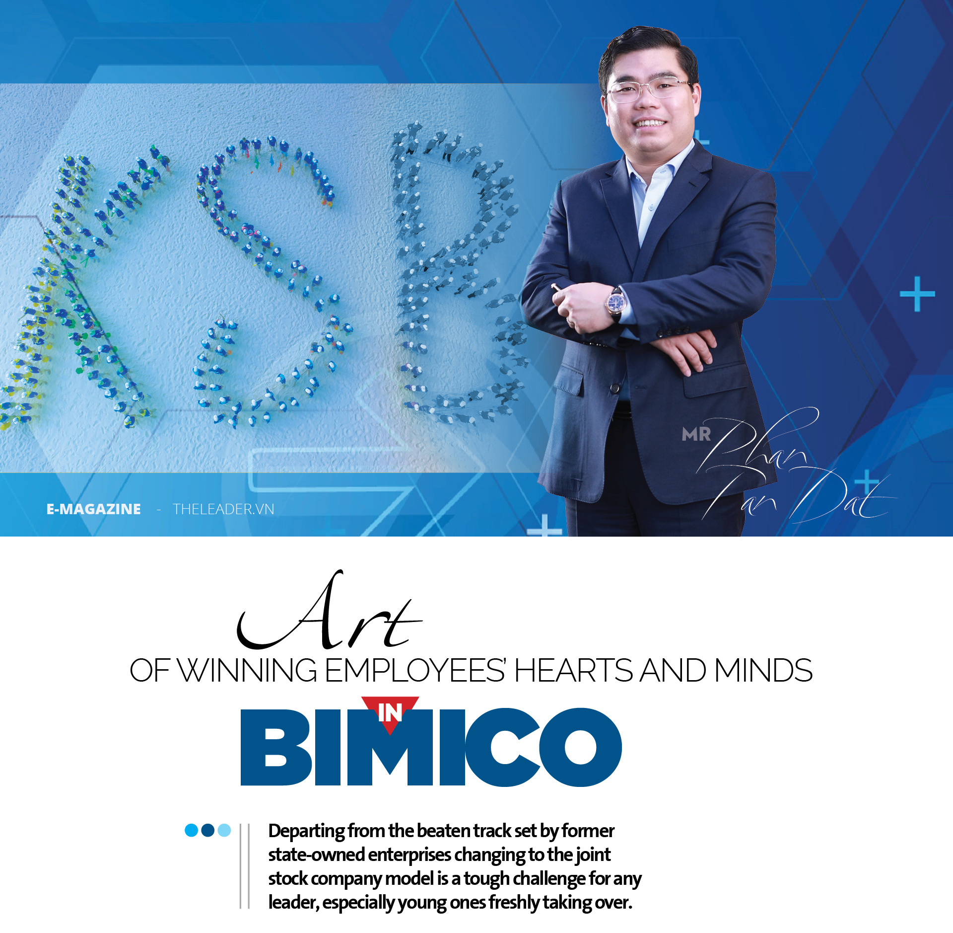 Art of winning employees' hearts and minds in BIMICO