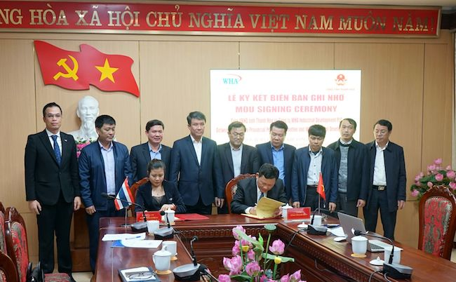 WHA signs MoU to develop 2 industrial zones in Thanh Hoa province