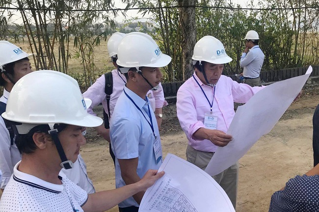 Japan's partner to visit Netland's project