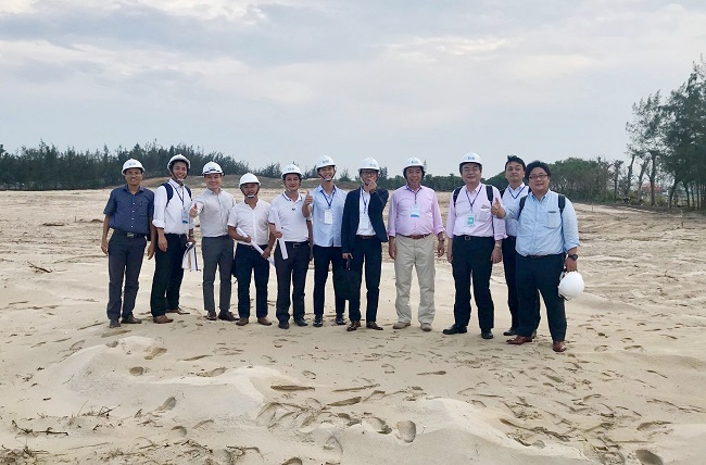 Japan's partner to visit Netland's project 1