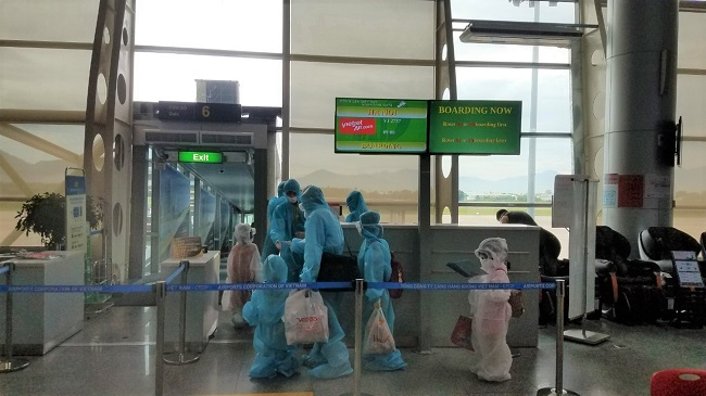 Vietjet transports more than 800 passengers from pandemic centre Danang to home