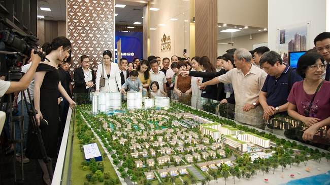 Novaland launches its real estate centre in Hanoi 1