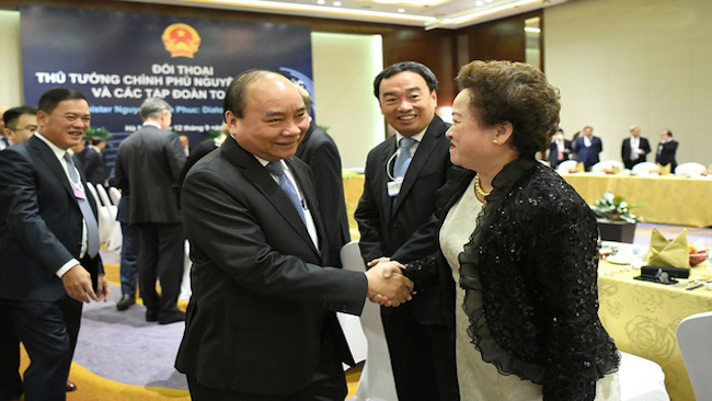 World's largest corporations pledged its supports to Vietnam 1