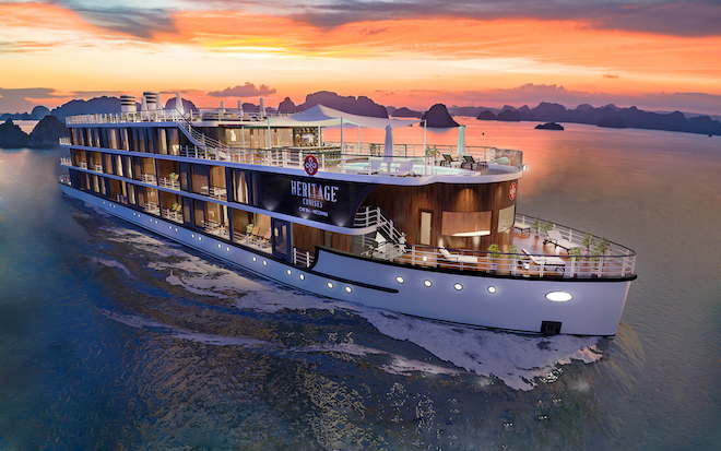 Touching the heritage on Vietnam's first boutique cruise