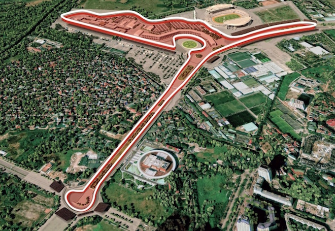 Hanoi starts construction on Formula 1 racetrack