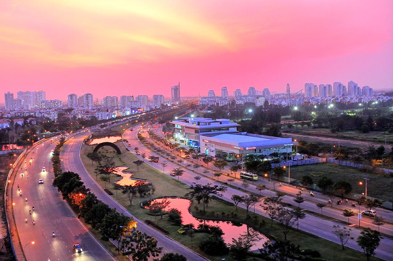 Phu My Hung's destination of huge profits